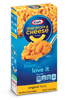 Image result for kraft mac and cheese