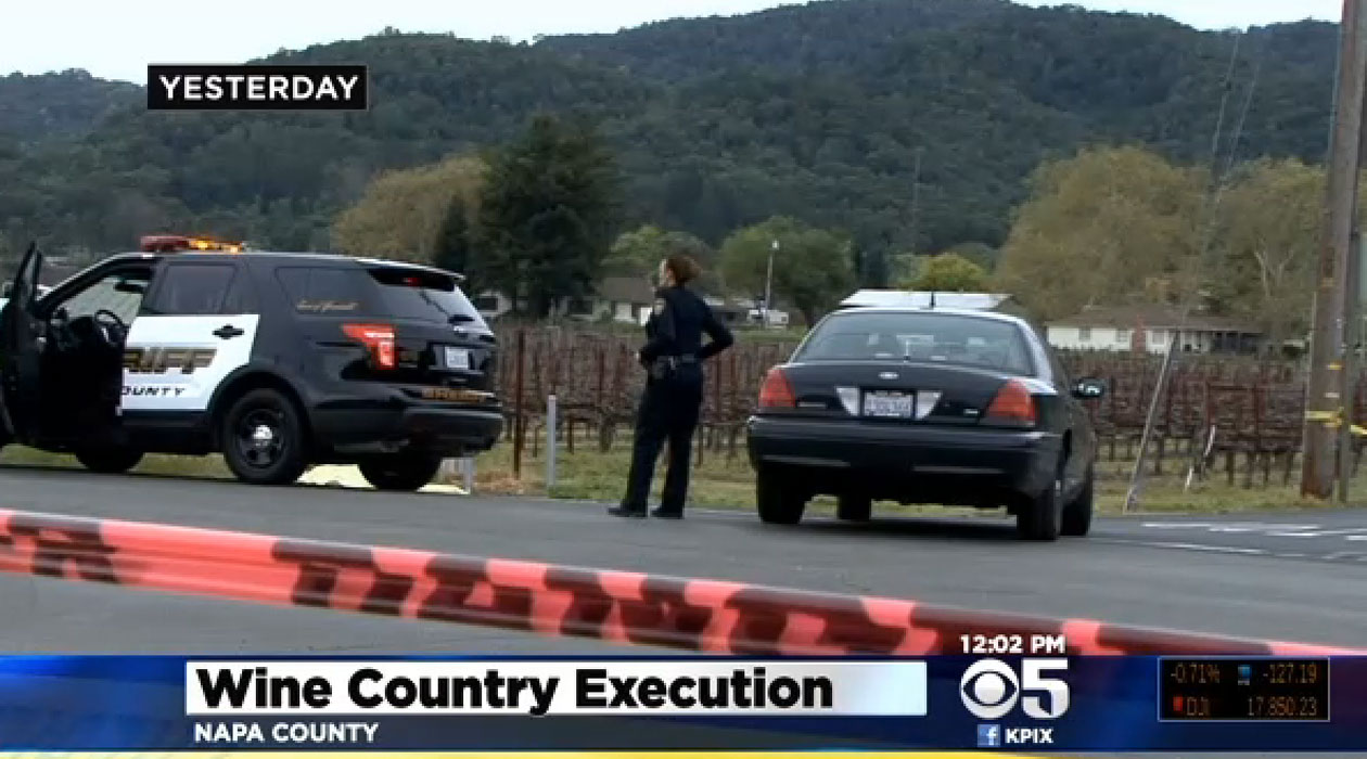 Napa winery owner, investor dead in apparent murder-suicide in