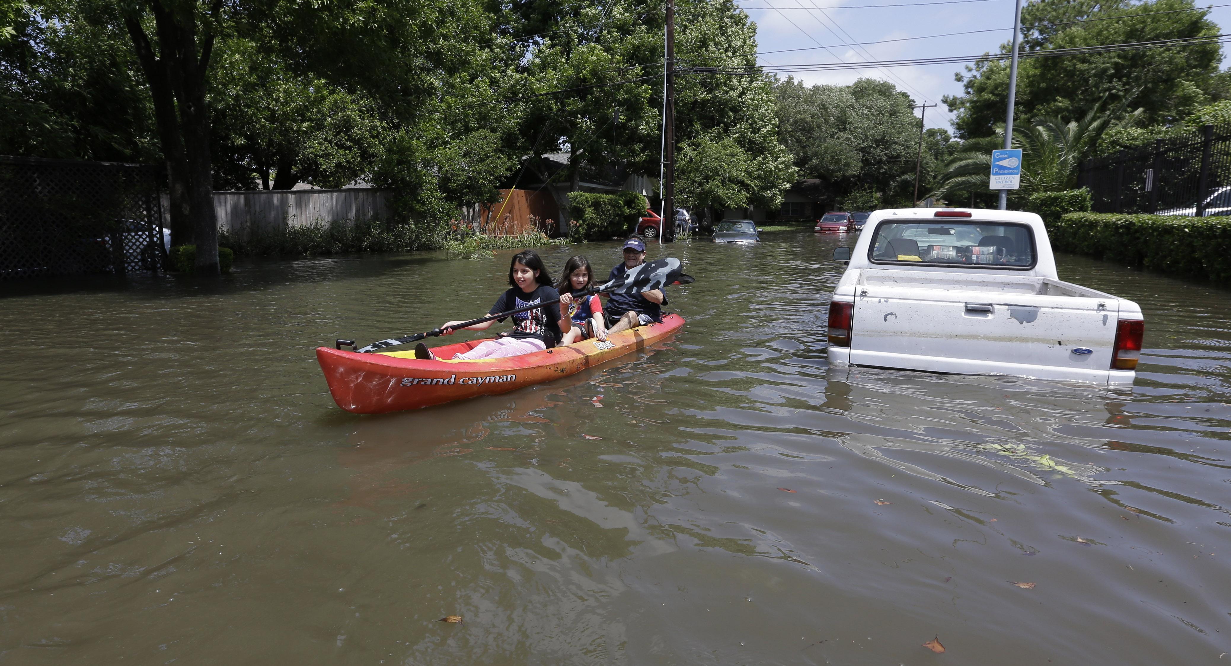 Ford Dealership San Antonio >> Did climate change, El Nino make Texas floods worse? - CBS ...