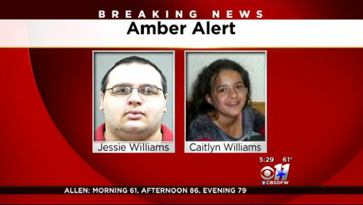 Amber Alert issued for missing 9-year-old Texas girl Caitlyn