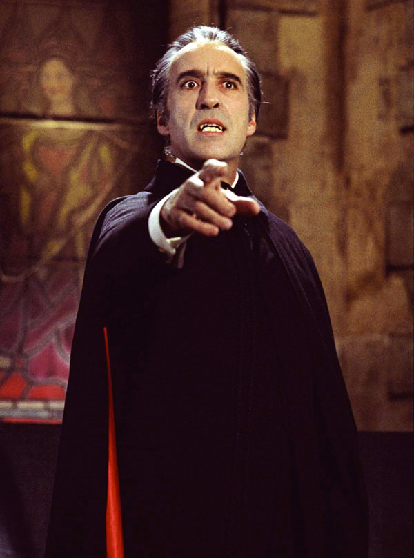 """""""Dracula A.D. 1972"""" - Christopher Lee 1922-2015 - Pictures ..."""