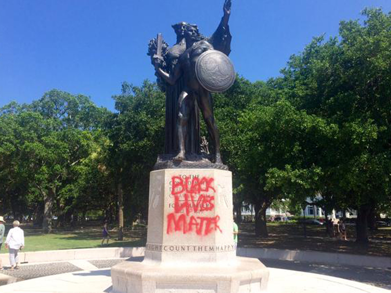 More States Seeing Confederate Statues Defaced In Wake