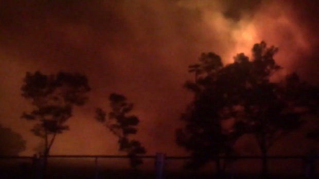Wildfire in Vacaville, Calif , forces evacuations - CBS News