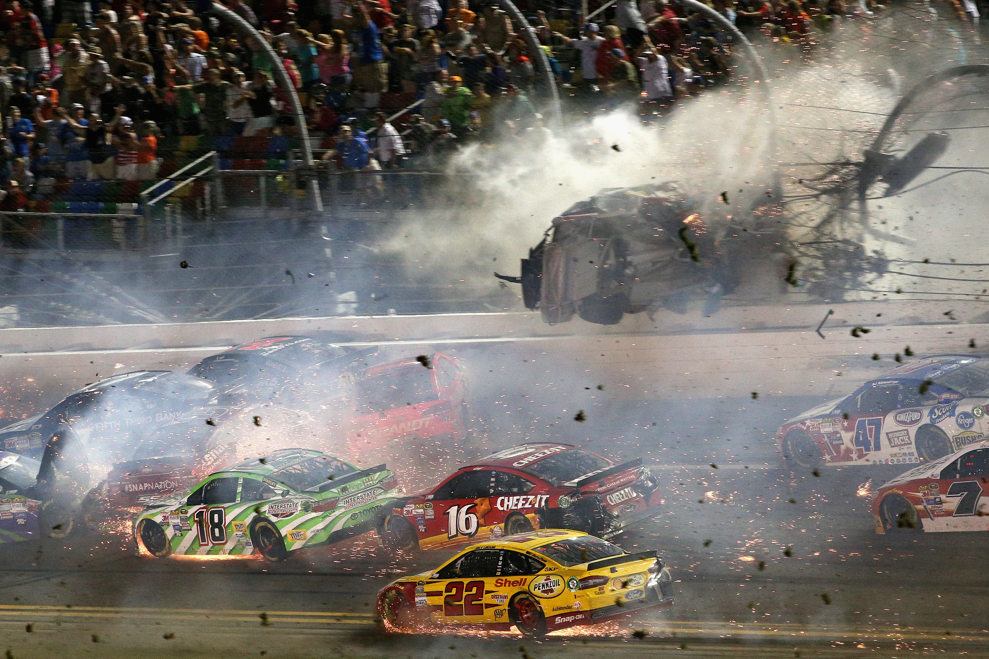 The Worst NASCAR Crashes