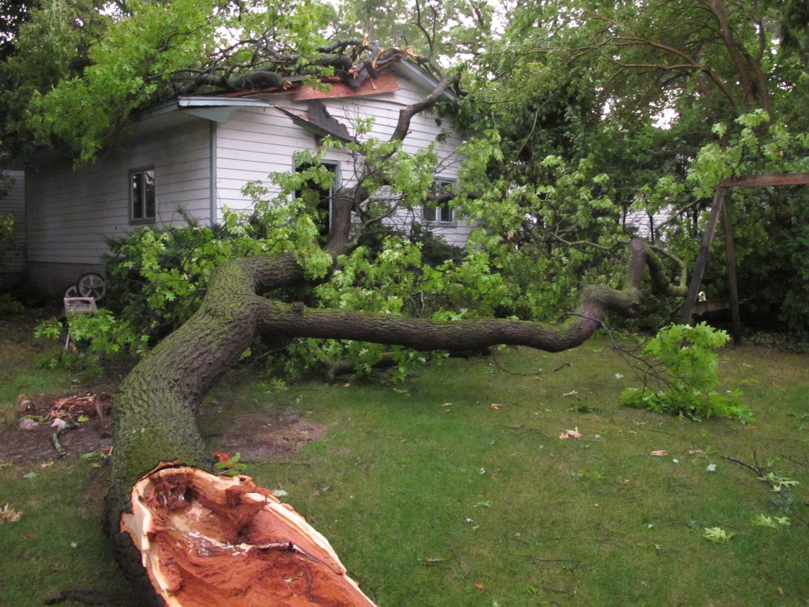 Powerful Storms Spawn Tornado In Michigan Cbs News