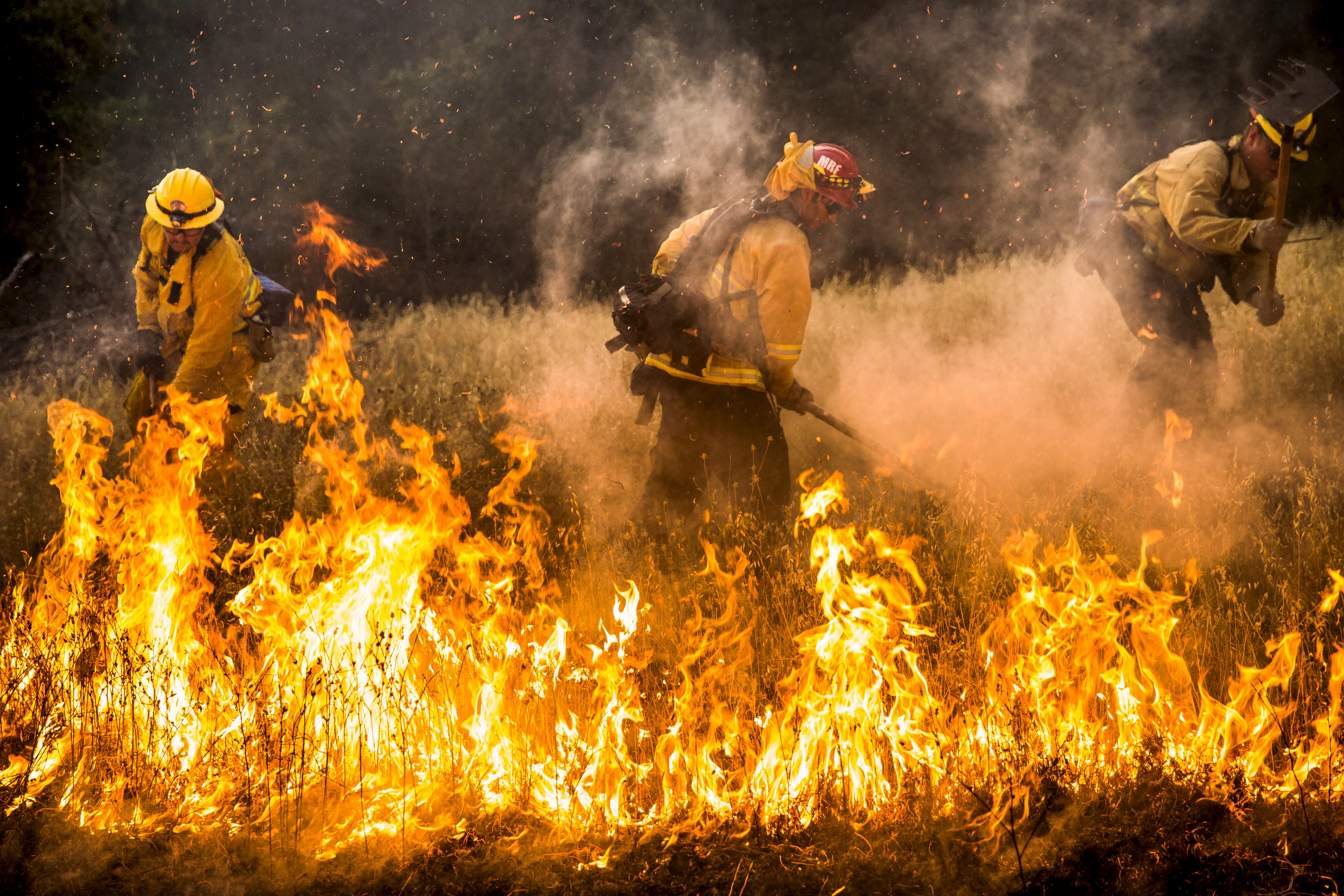 Rocky Fire State Of Emergency Declared As Fires Rage In