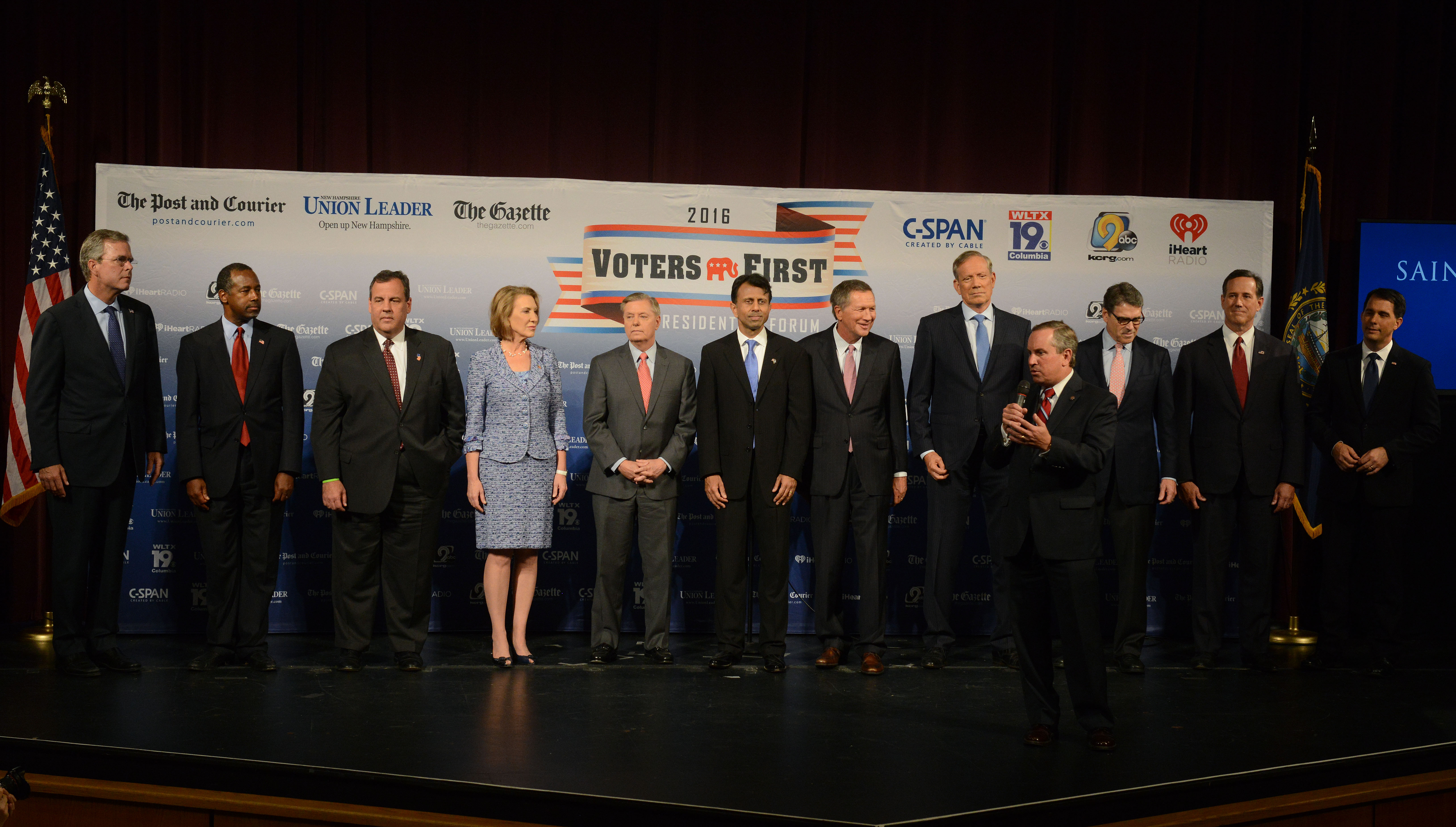 Election Fox News Announces Participants In First GOP Debate - Fox news electionelection results us county map