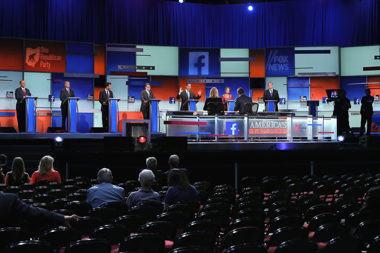 GOP debate 2015: Transcript of the prime-time debate - CBS News