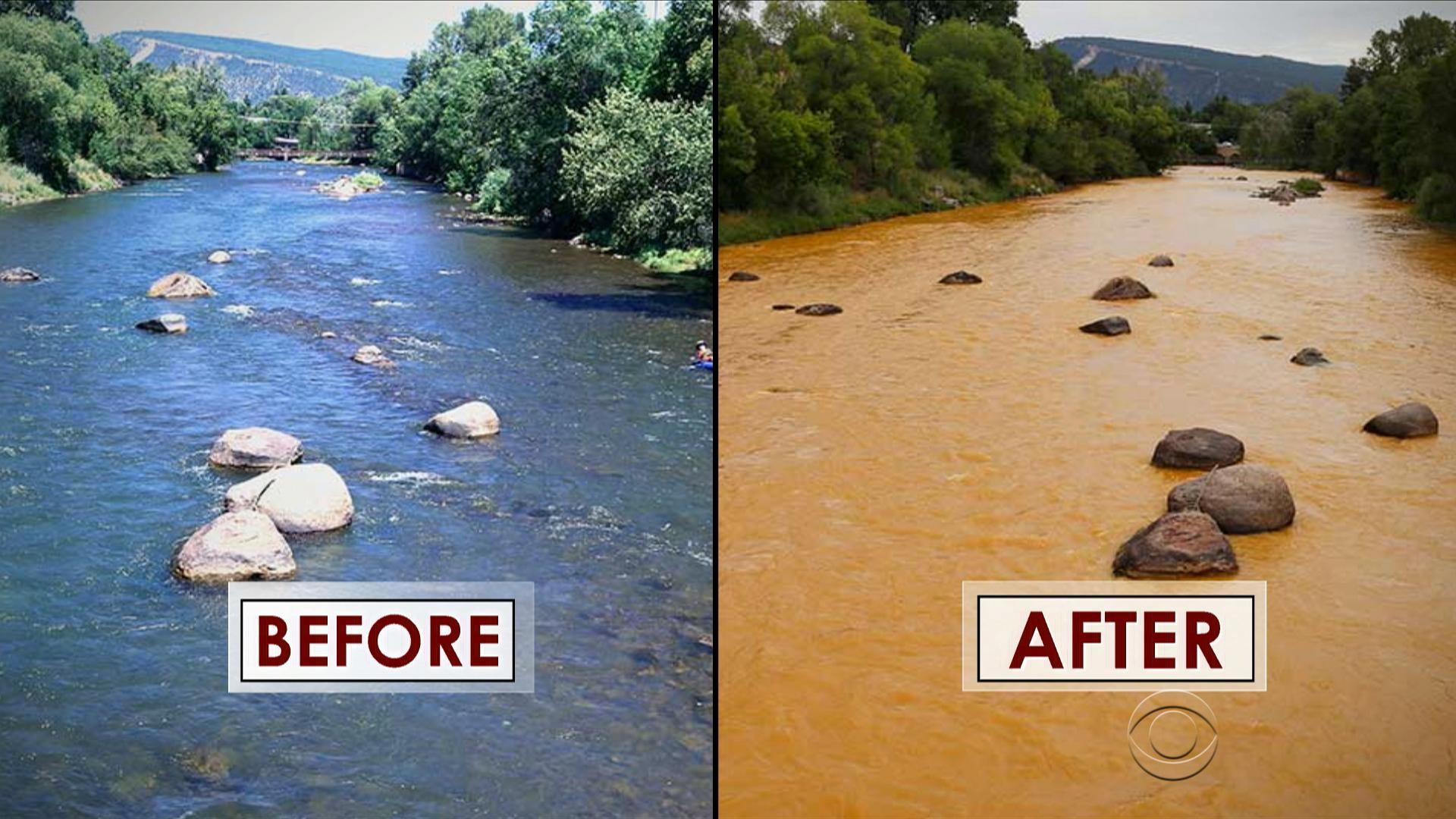 Toxic Colorado mine spill catastrophic mayor says  CBS News