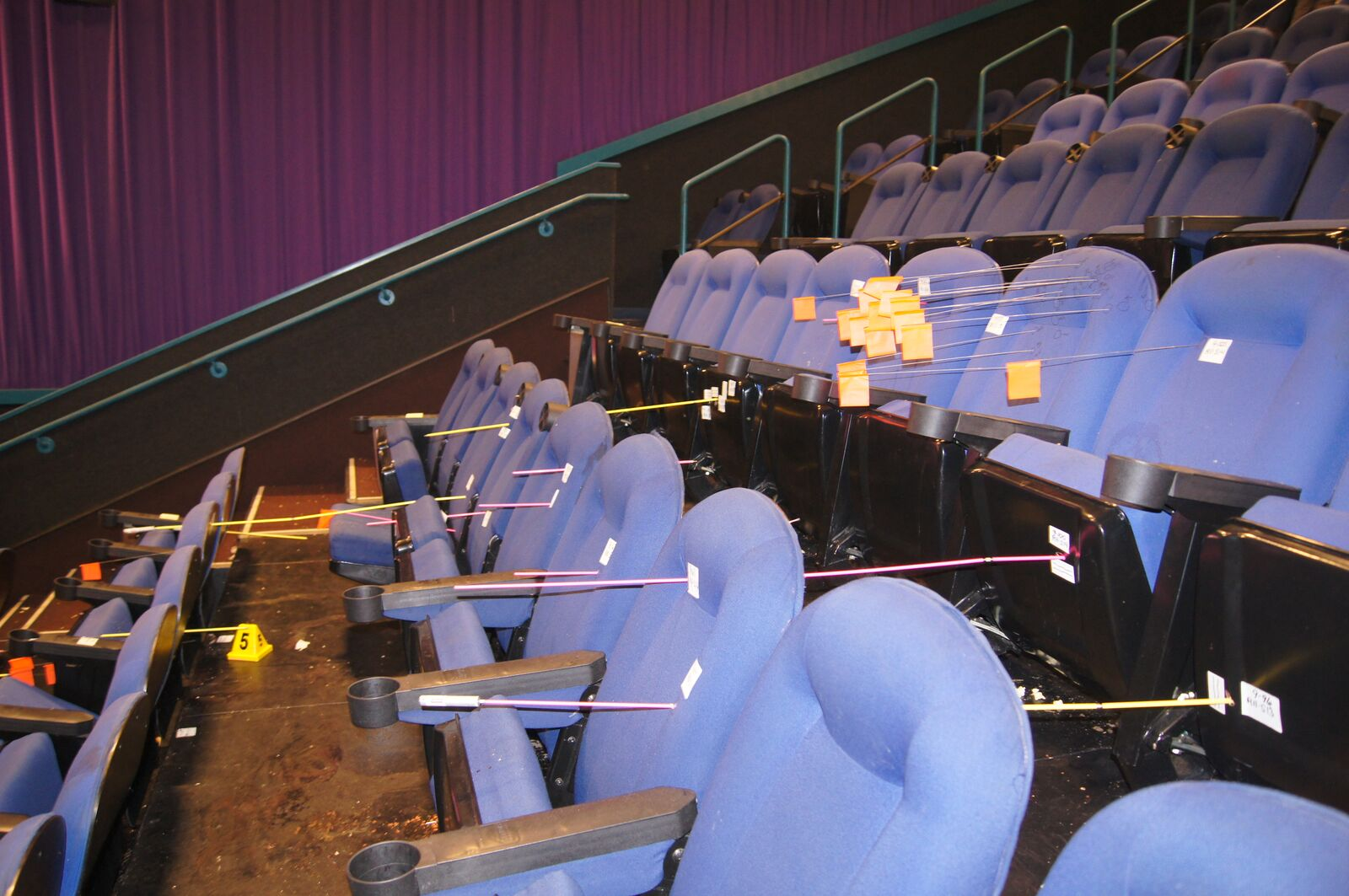 Powerful Photos Released From Aurora Theater Shooting Cbs News