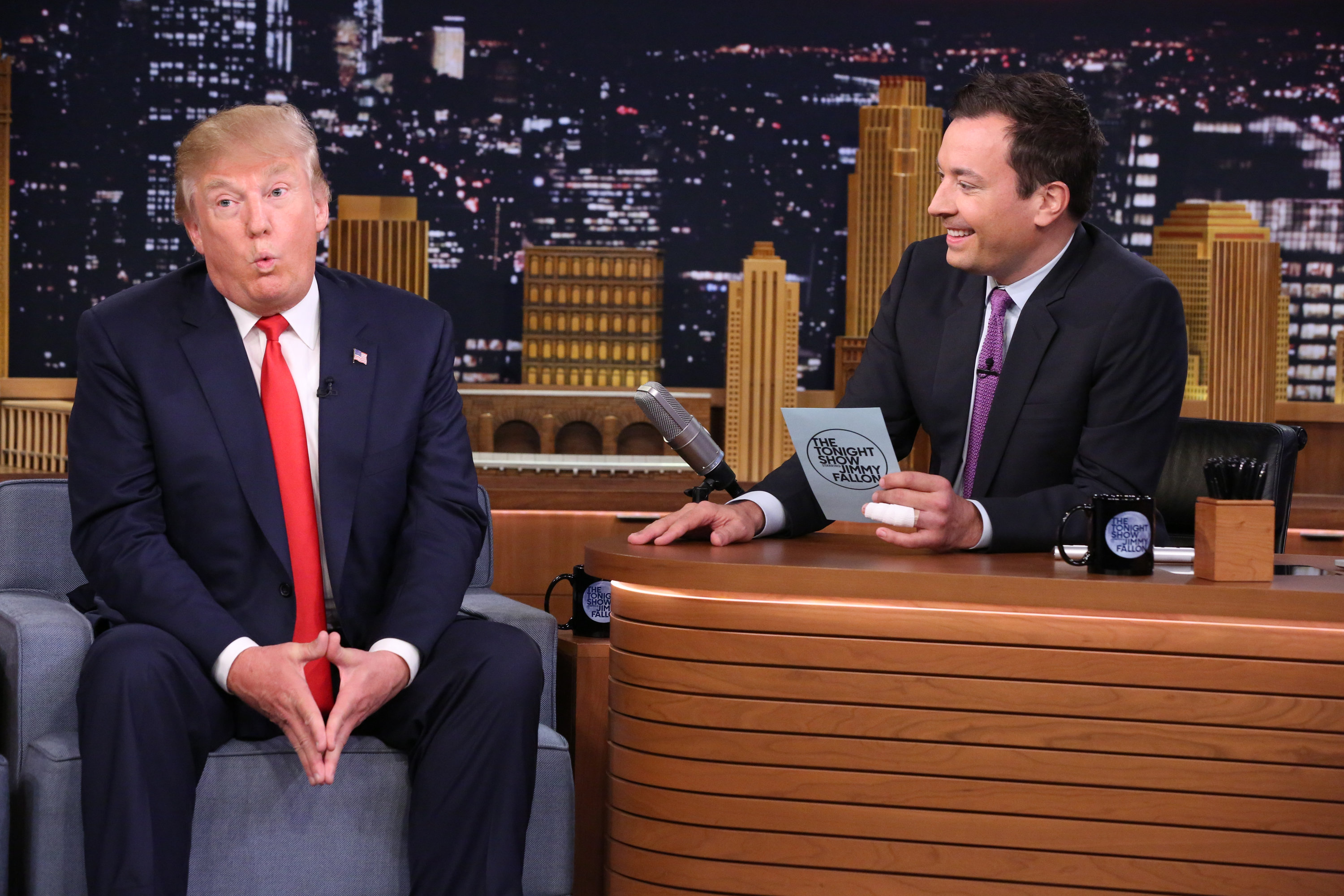 Election 2016: Jimmy Fallon asks Donald Trump if he's ever ...