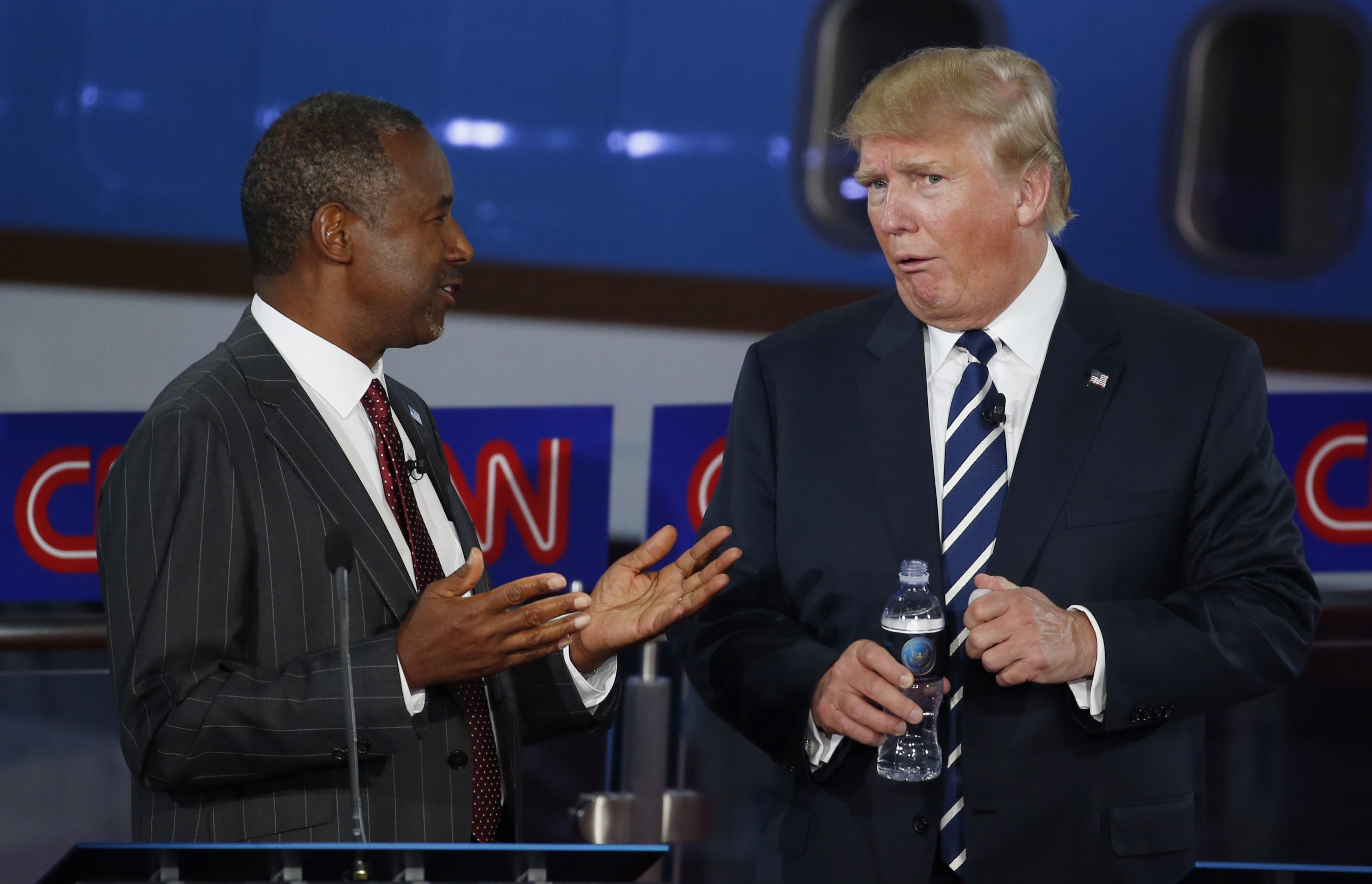 Election 2016: Donald Trump and Ben Carson threaten to
