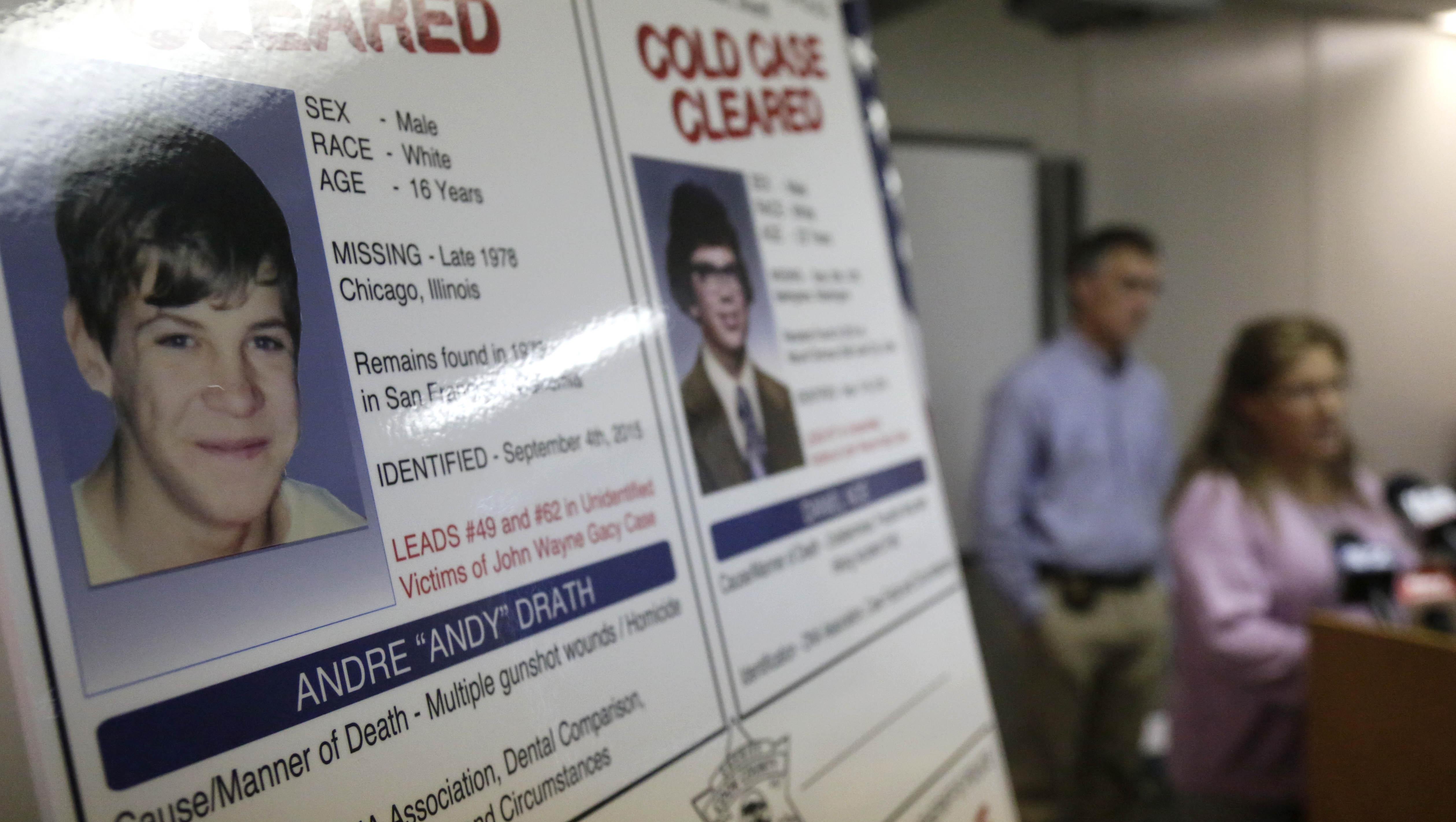 John Wayne Gacy exhumations help identify unrelated cold