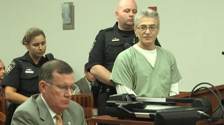 Dr. Neulander addresses the court at his sentencing.