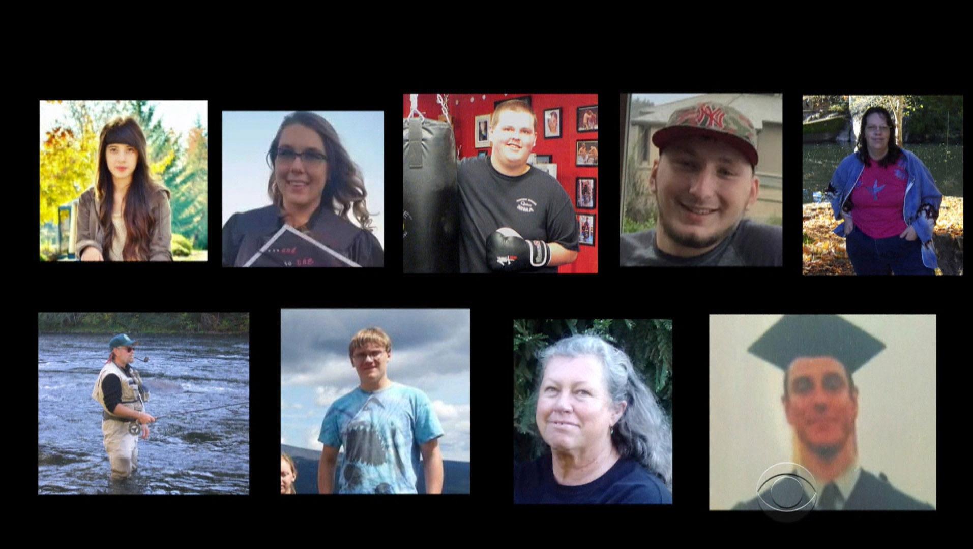 victims of oregon shooting victims of oregon shooting