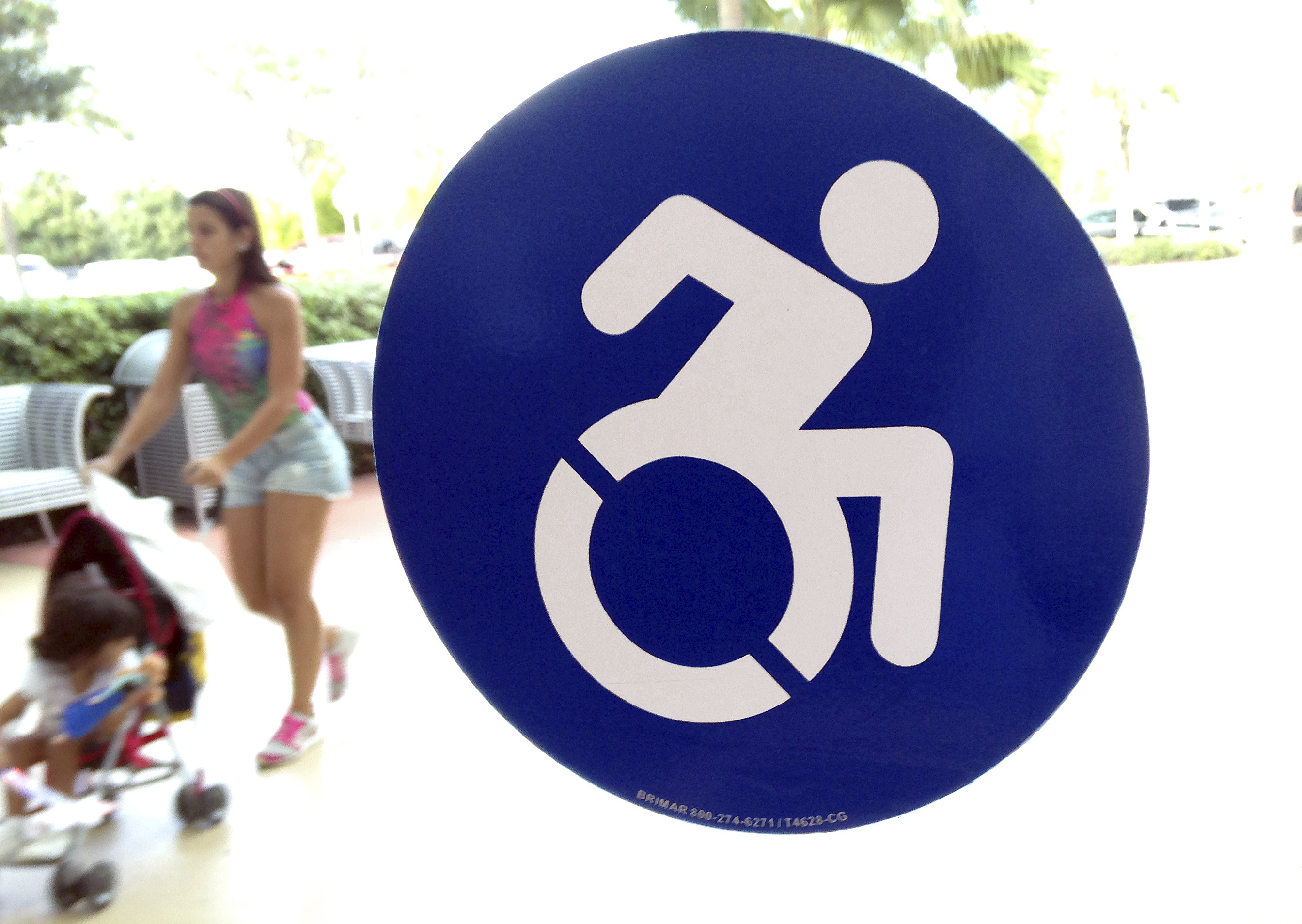 Handicapped Symbol Getting A Makeover And Resistance