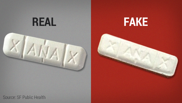 Fake Xanax laced with pain drug fentanyl led to overdoses
