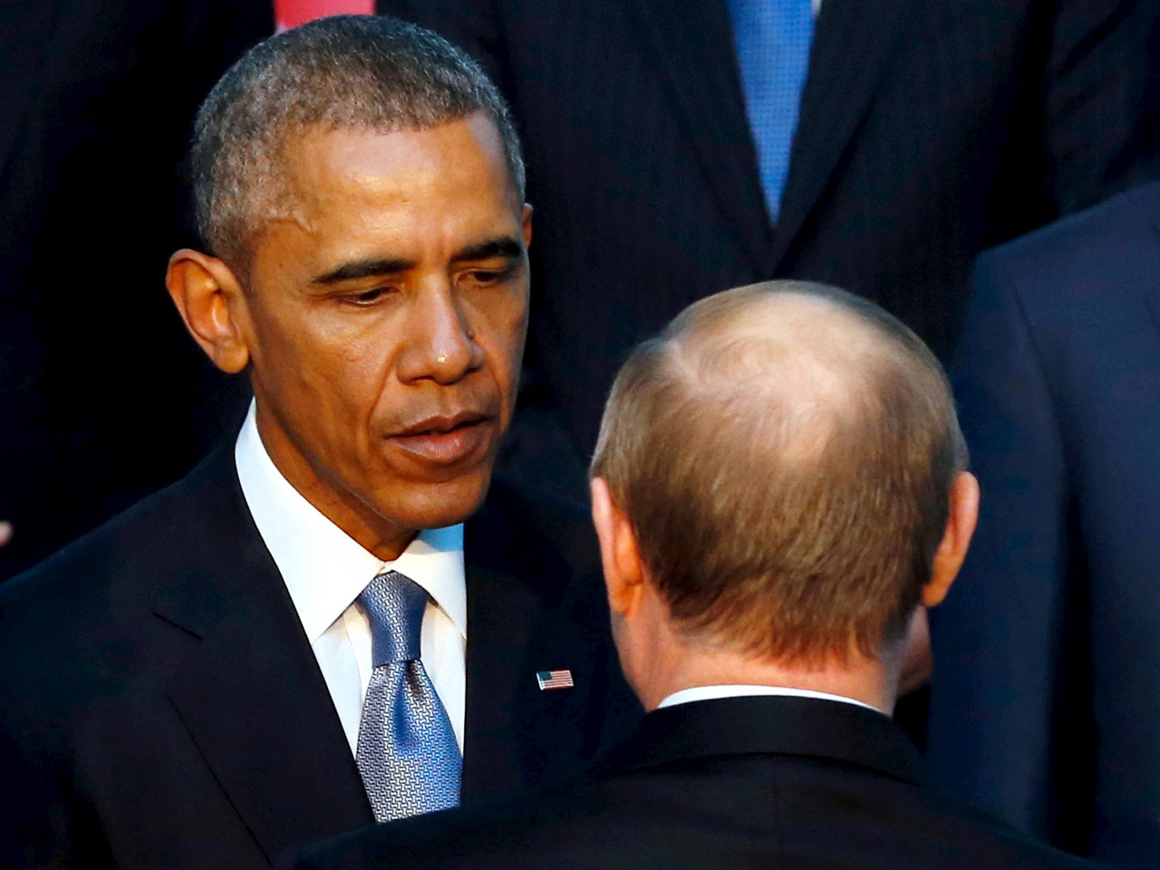 Obama And Putin Have Private Chat At G 20 Summit In Turkey Cbs News