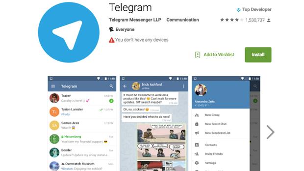 After Paris attacks, encrypted messaging app Telegram blocks ISIS