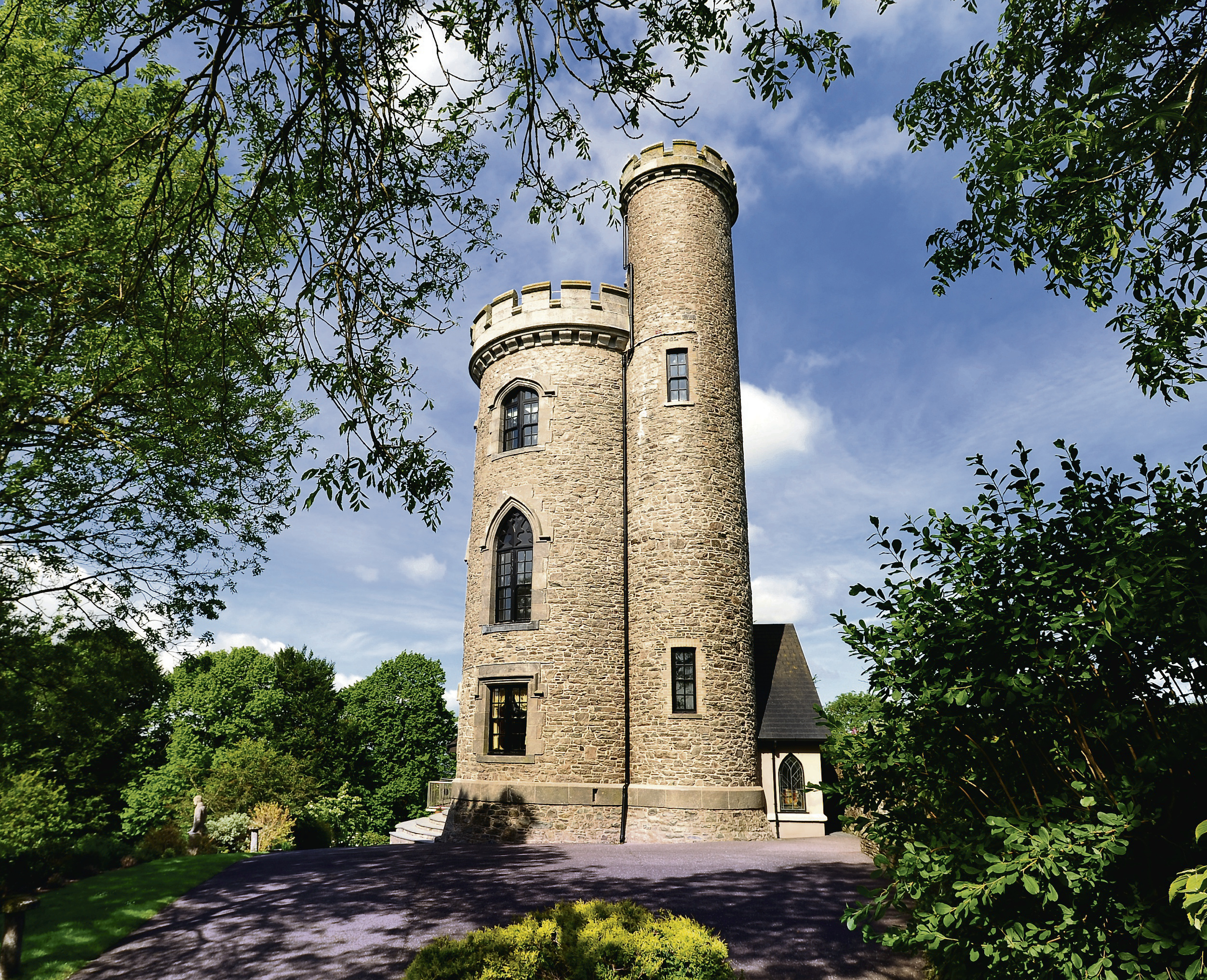 9 homes fit for a fairy tale cbs news