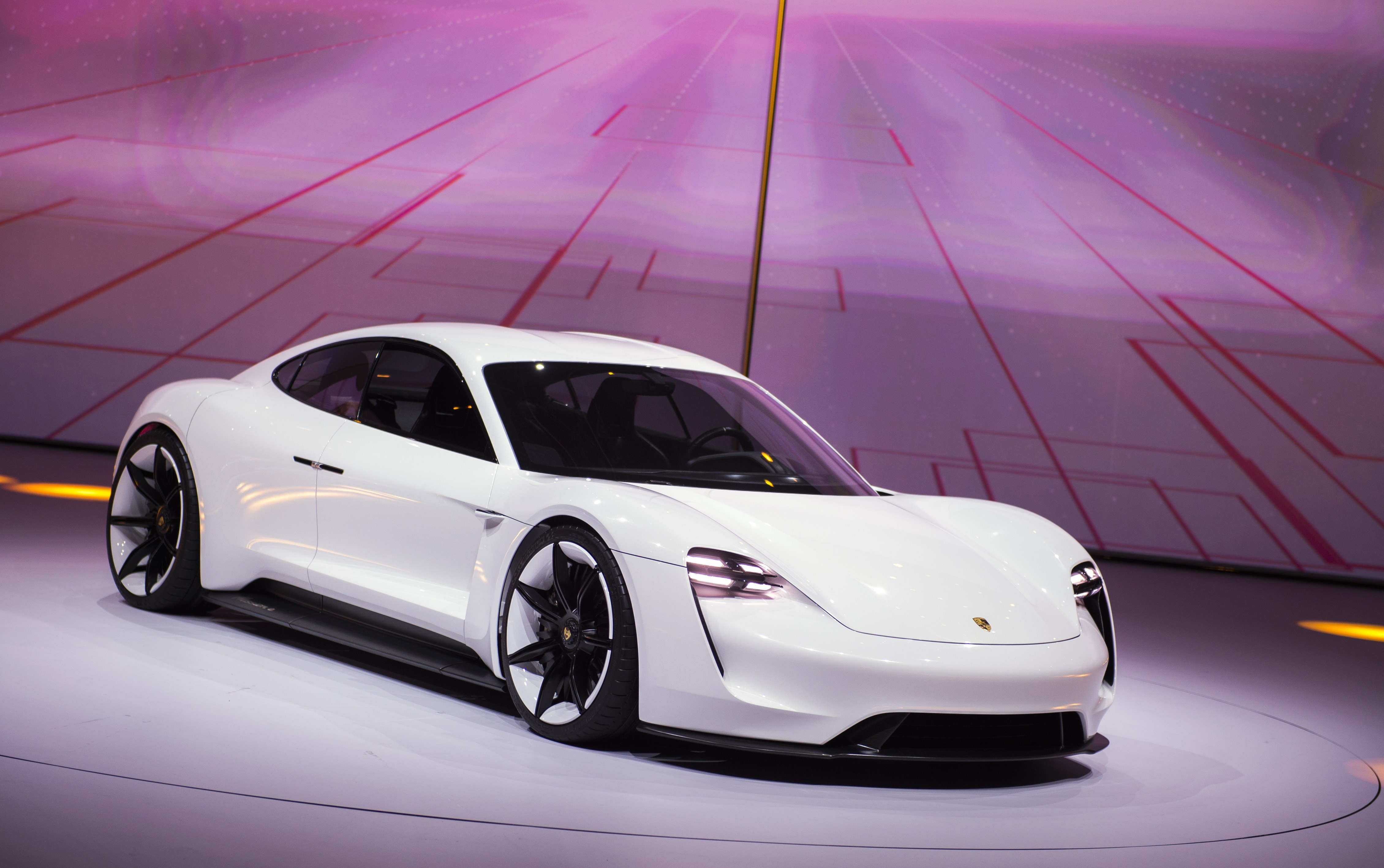Watch Out Tesla This Porsche Goes All Electric