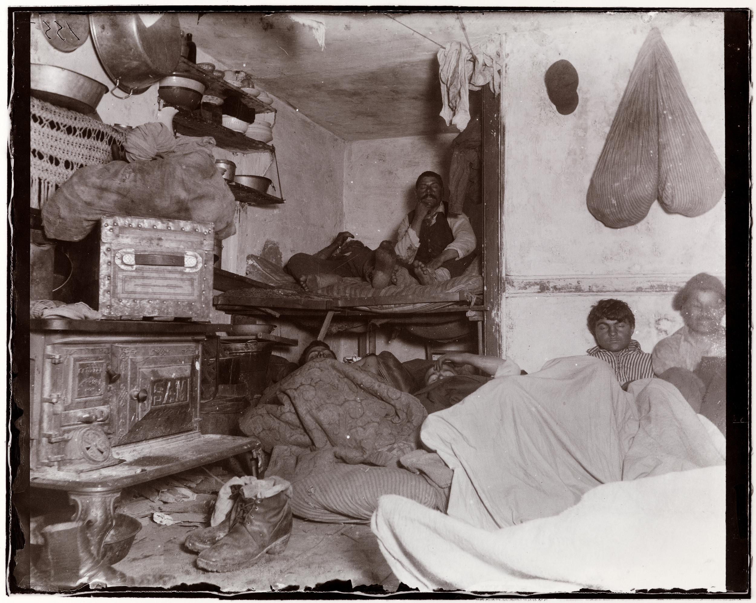 "New Pioneer Travel >> ""How the Other Half Lives"" - Jacob Riis retrospective ..."