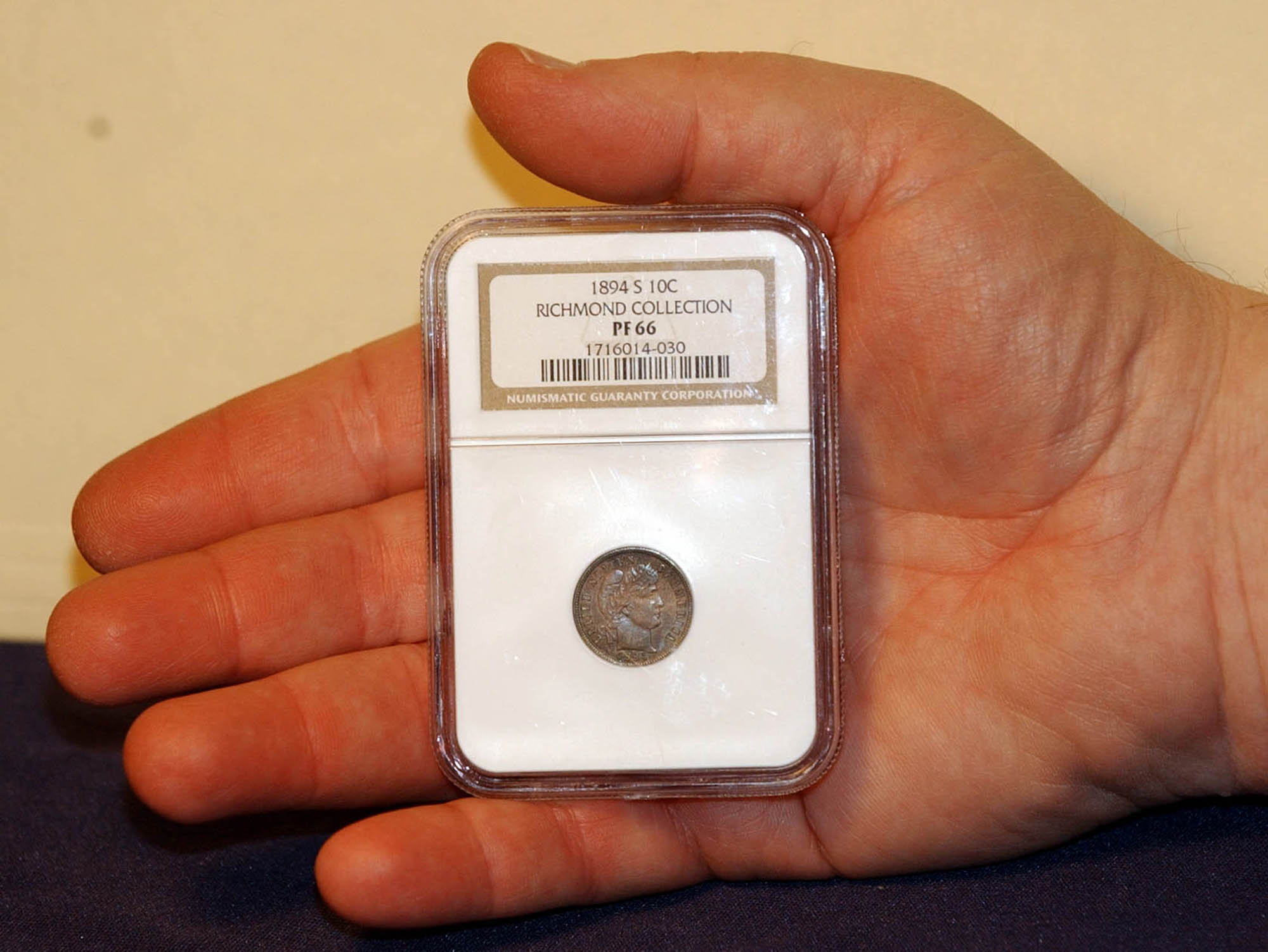 Rare Dime Worth More Than A Million Up For Auction Cbs News