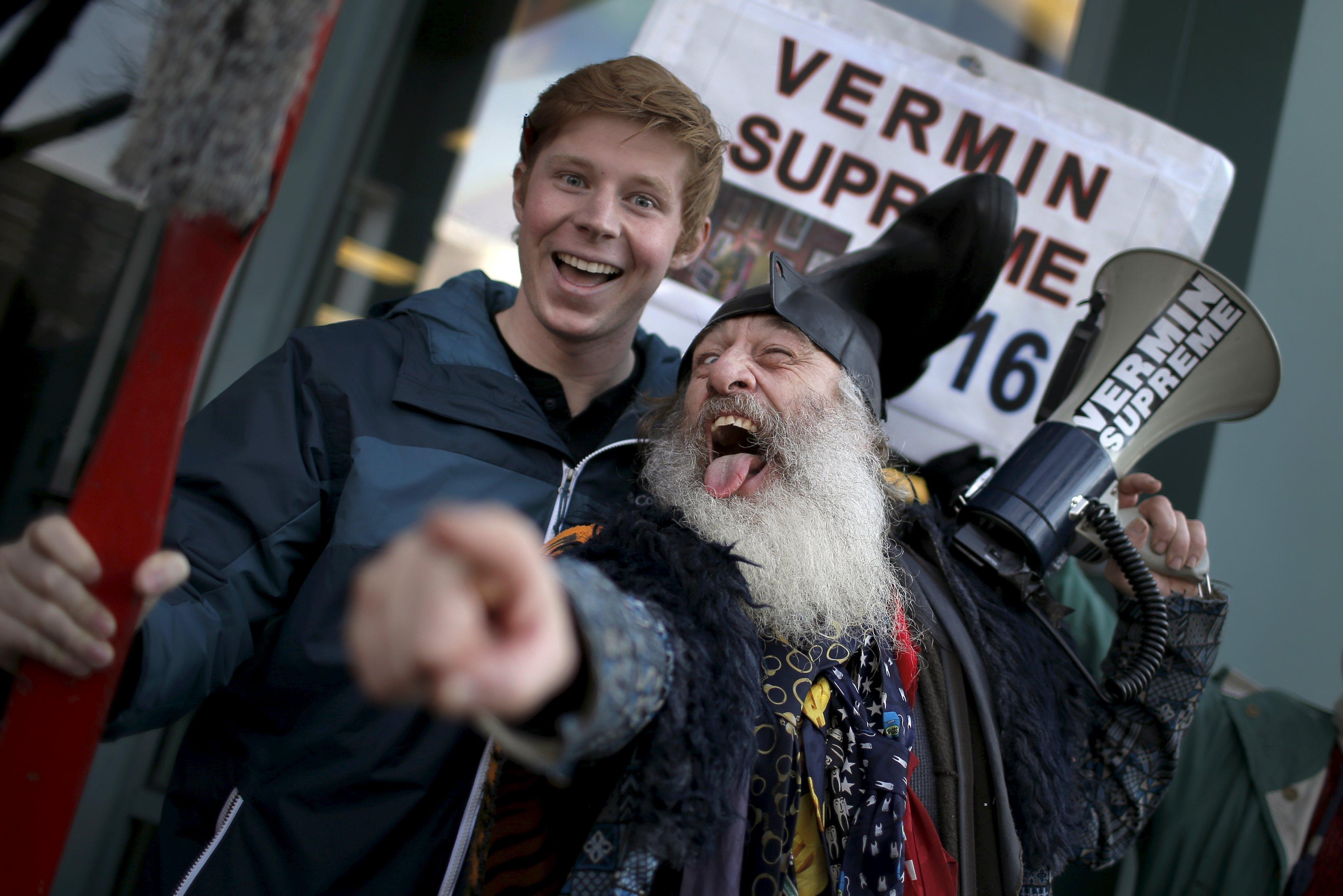 Vermin Supreme finishes fourth in New Hampshire Democratic ...