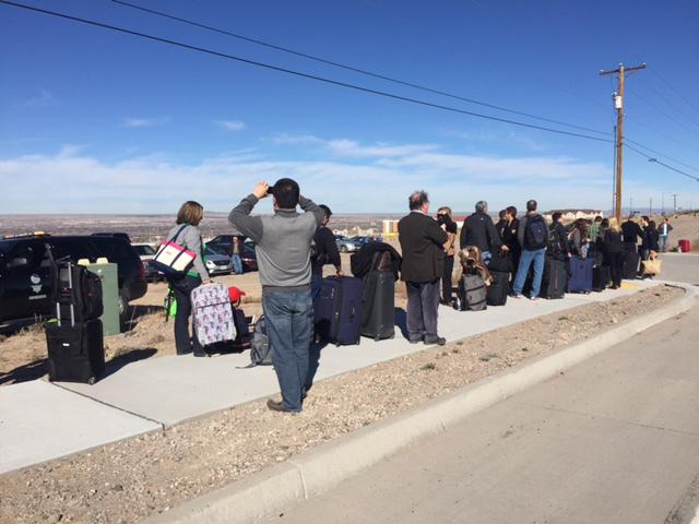 "Police Find ""credible Explosive Device"" At Albuquerque"