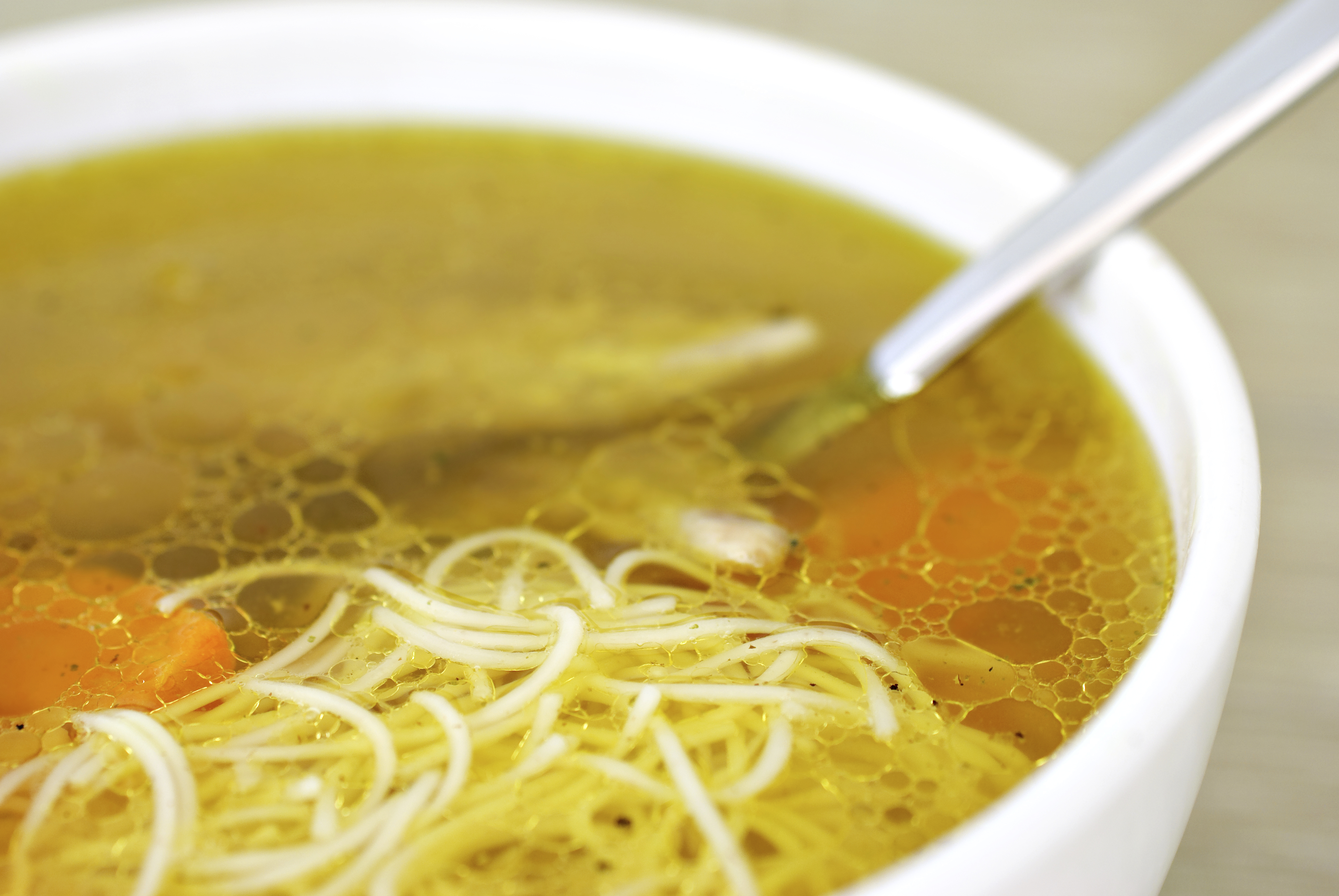Chicken soup for colds and flu does it really help cbs for Soup for a cold