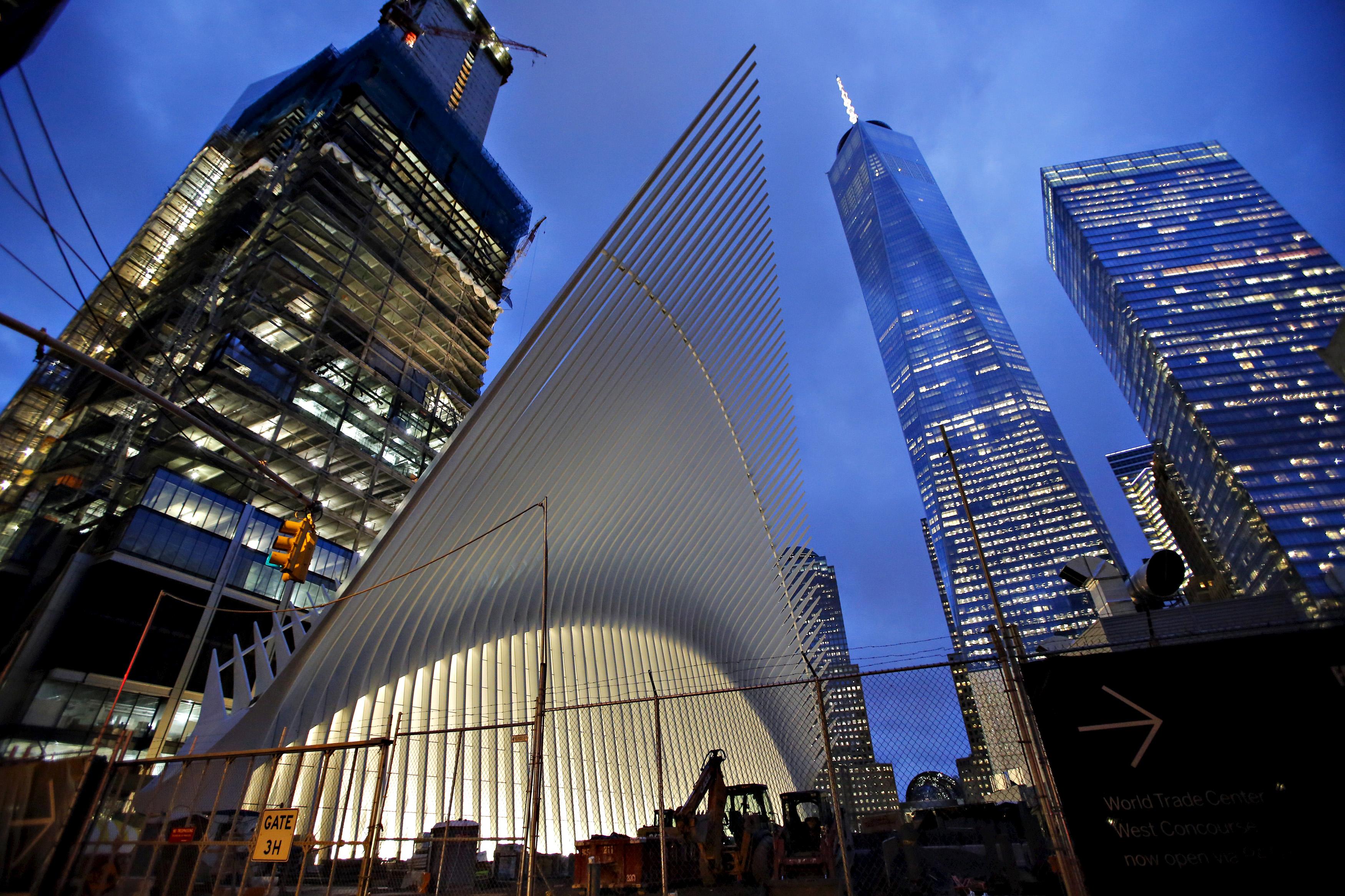 World Trade Center S Oculus 4 Billion New World Trade