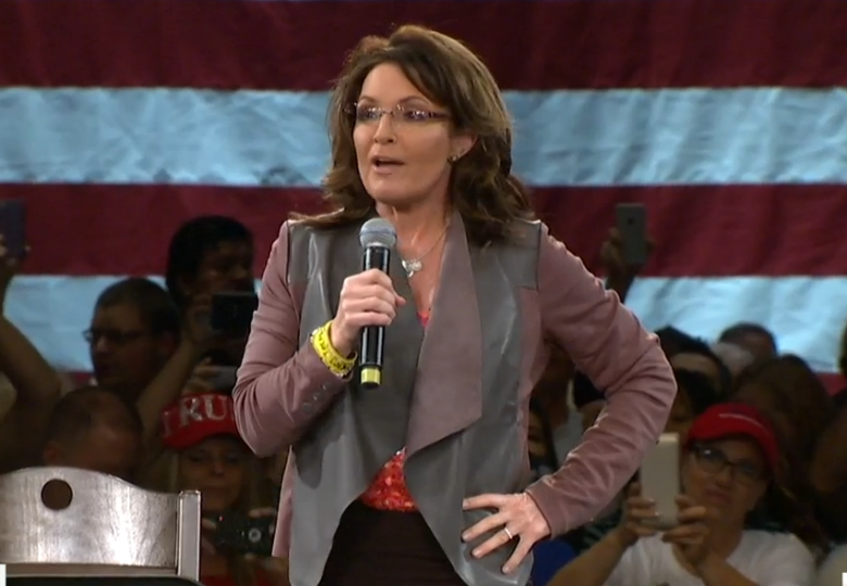 Sarah Palin slams