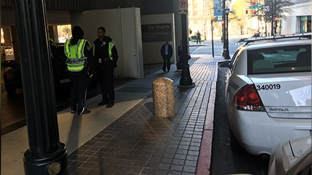 Woman found dead in freezer of downtown Atlanta hotel - CBS News