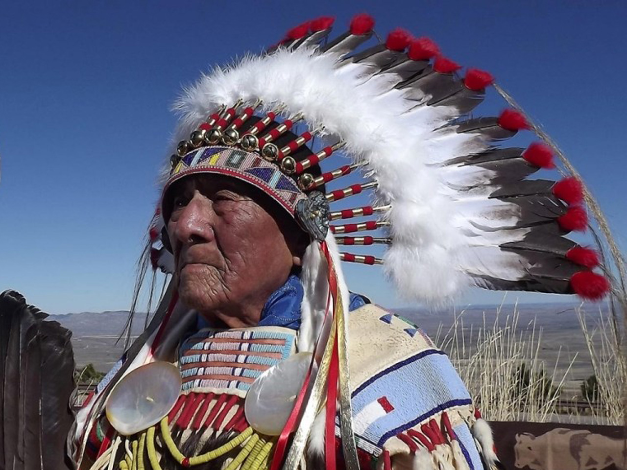 Last Plains Indian war chief dies at age 102 - CBS News