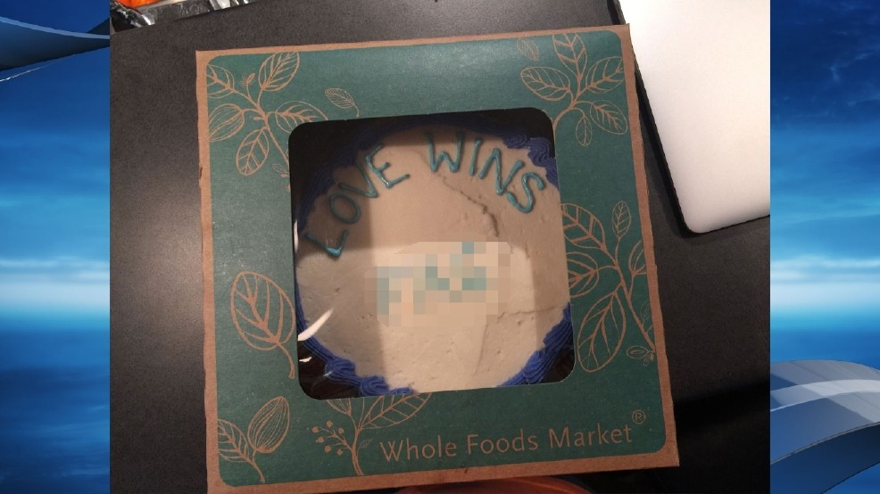 b17b58305 Whole Foods to take legal action against pastor who claimed cake had  homophobic slur