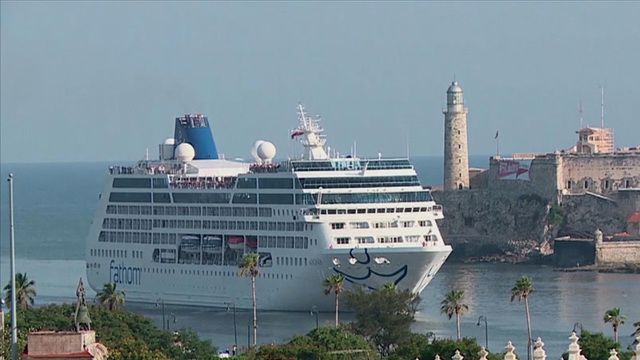 US Cruise Ship Carnival Adonia Docks In Havana Cuba For St Time - Jazz cruise ships