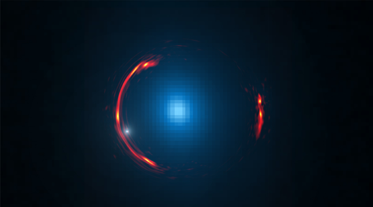 Astronomers discover dark matter galaxy, by accident