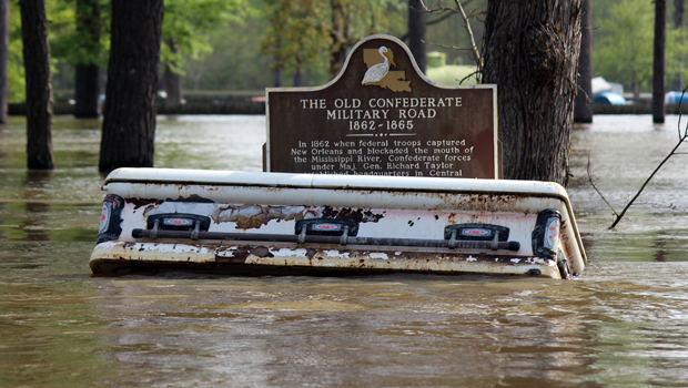 Louisiana flooding sends caskets far and wide - CBS News