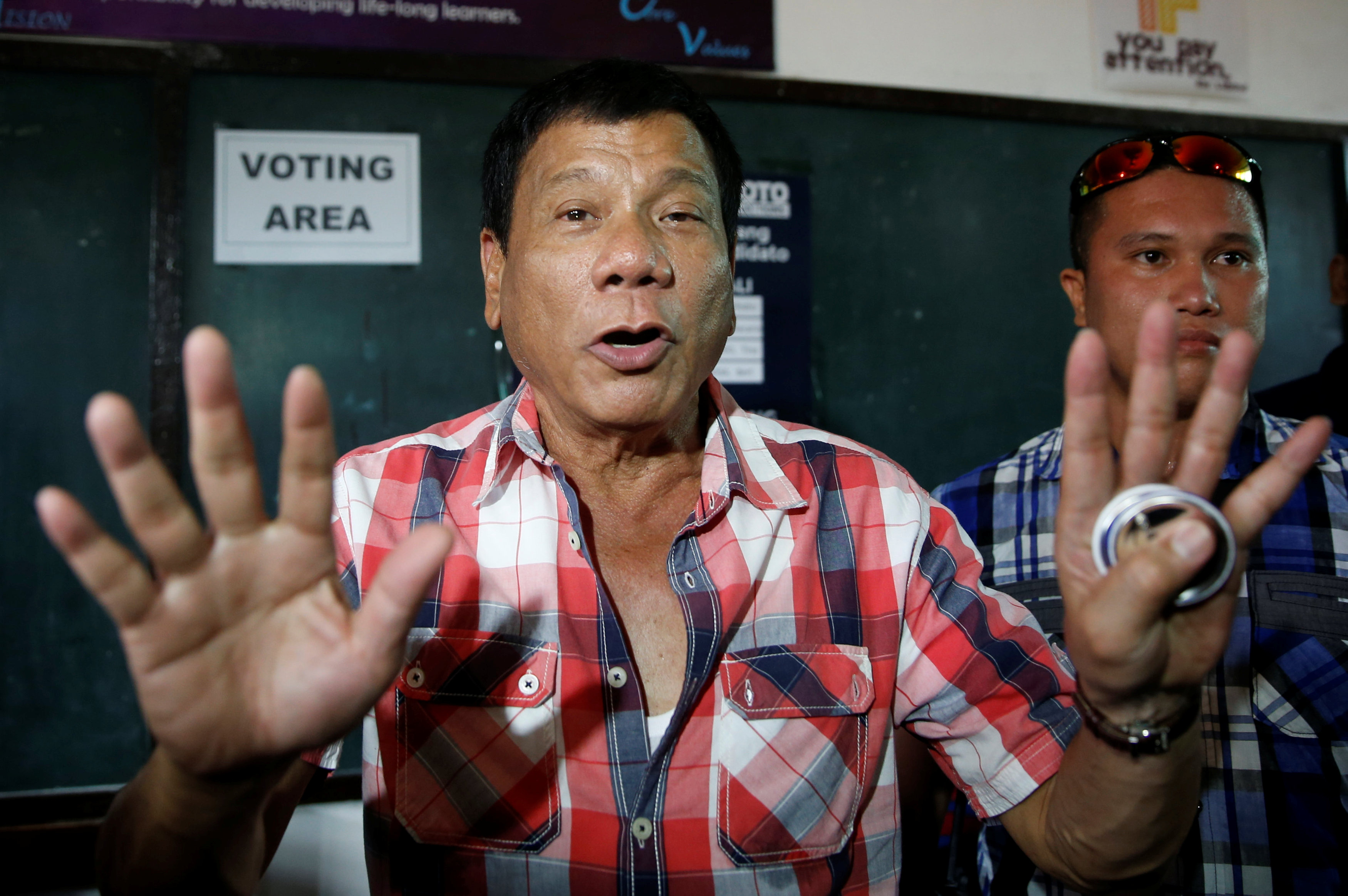 Philippines own donald trump poised for election victory