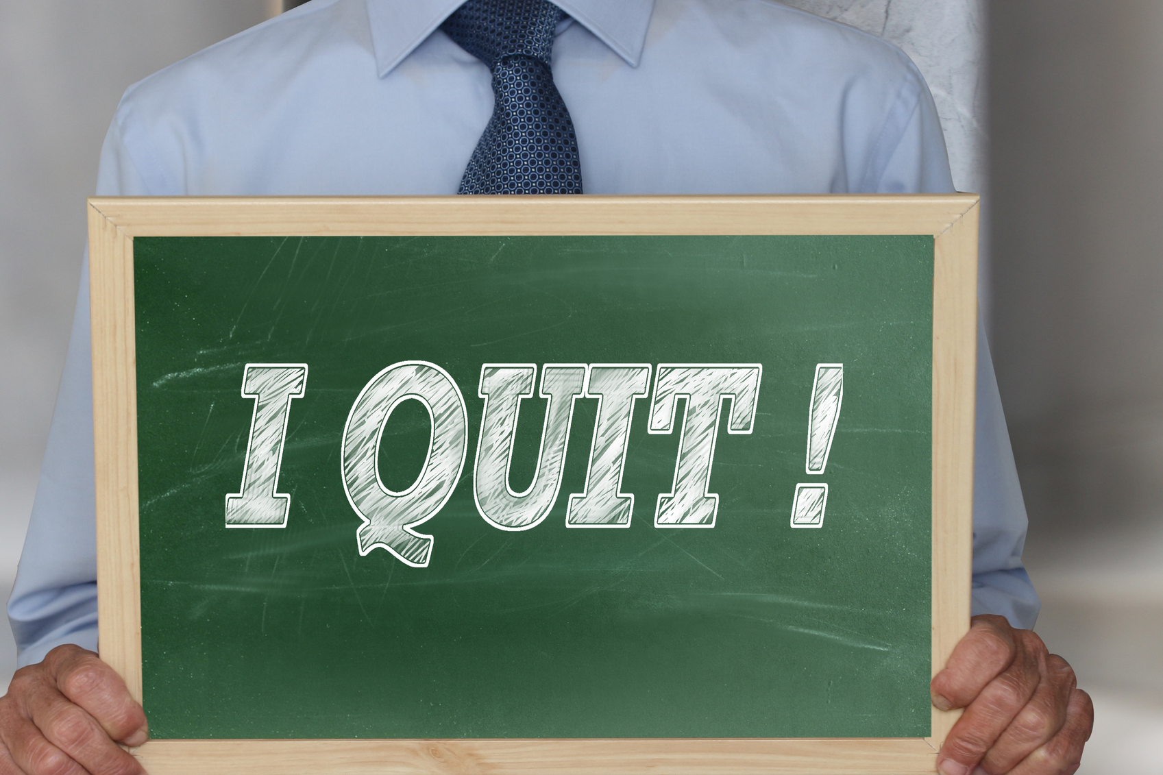 Should you quit your job without another lined up?
