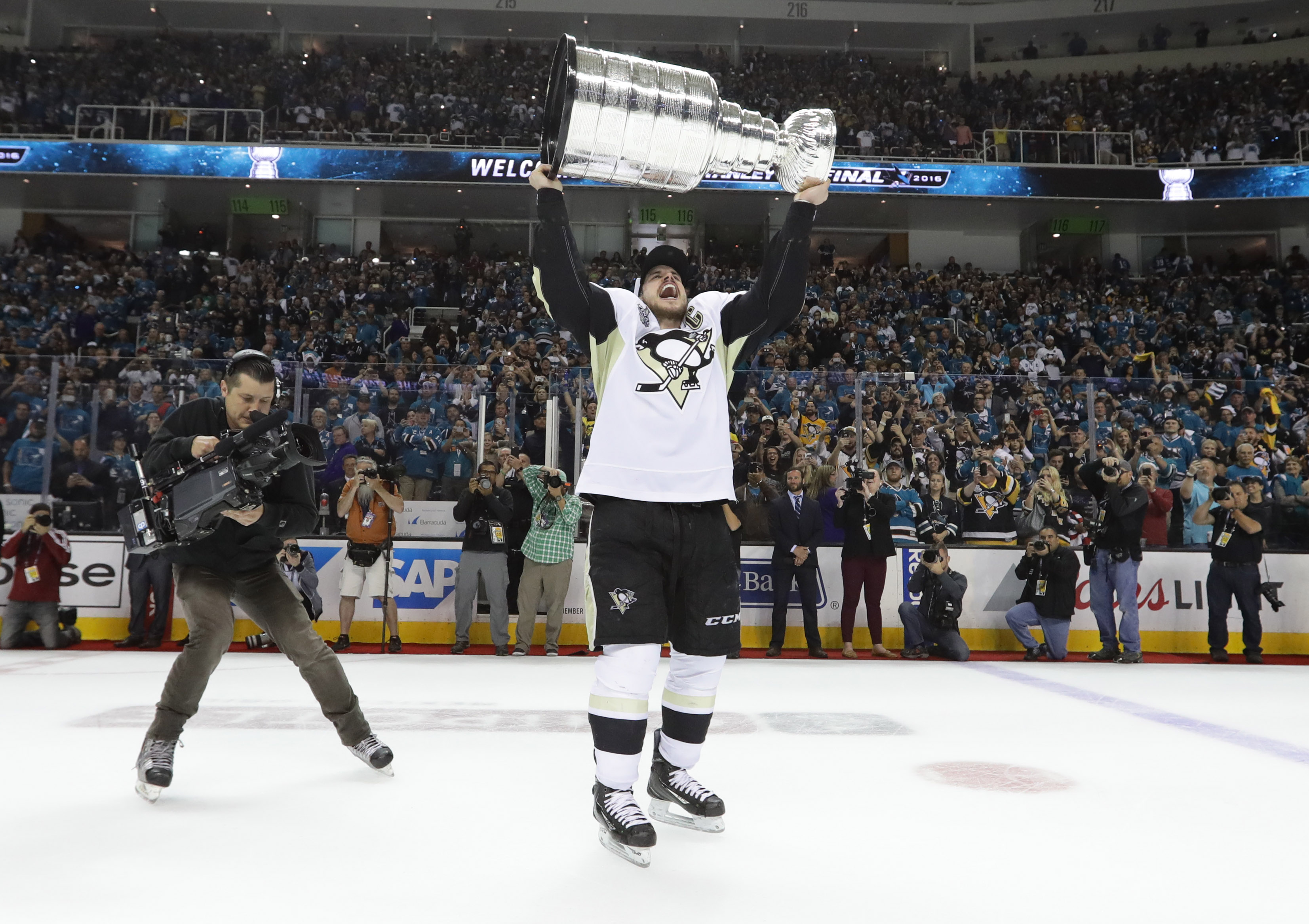 Pittsburgh Penguins Win Hockeys Stanley Cup CBS News - Map us stanley cup penguins sharks
