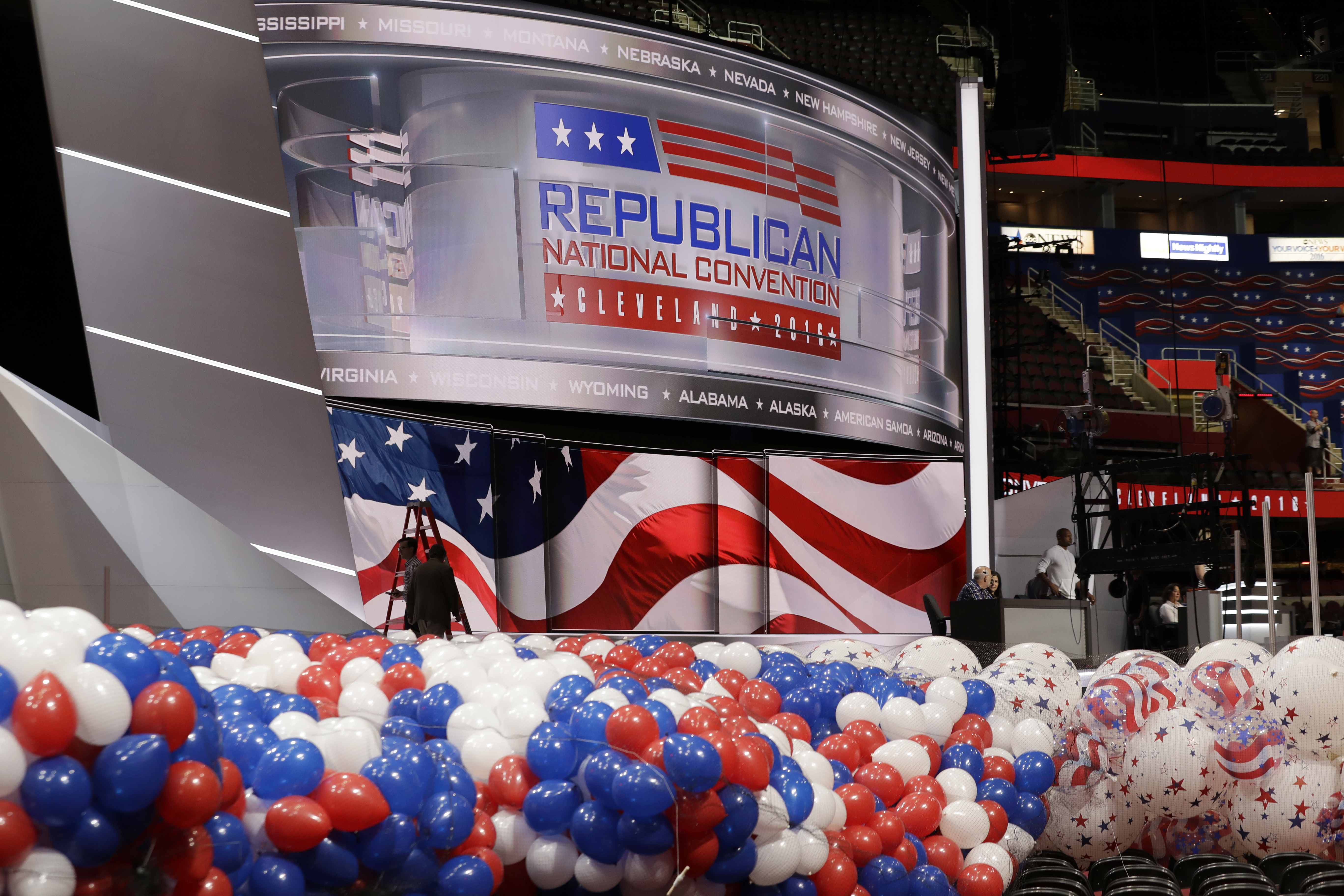 Sunday Gop Convention And Nice Attack Cbs News
