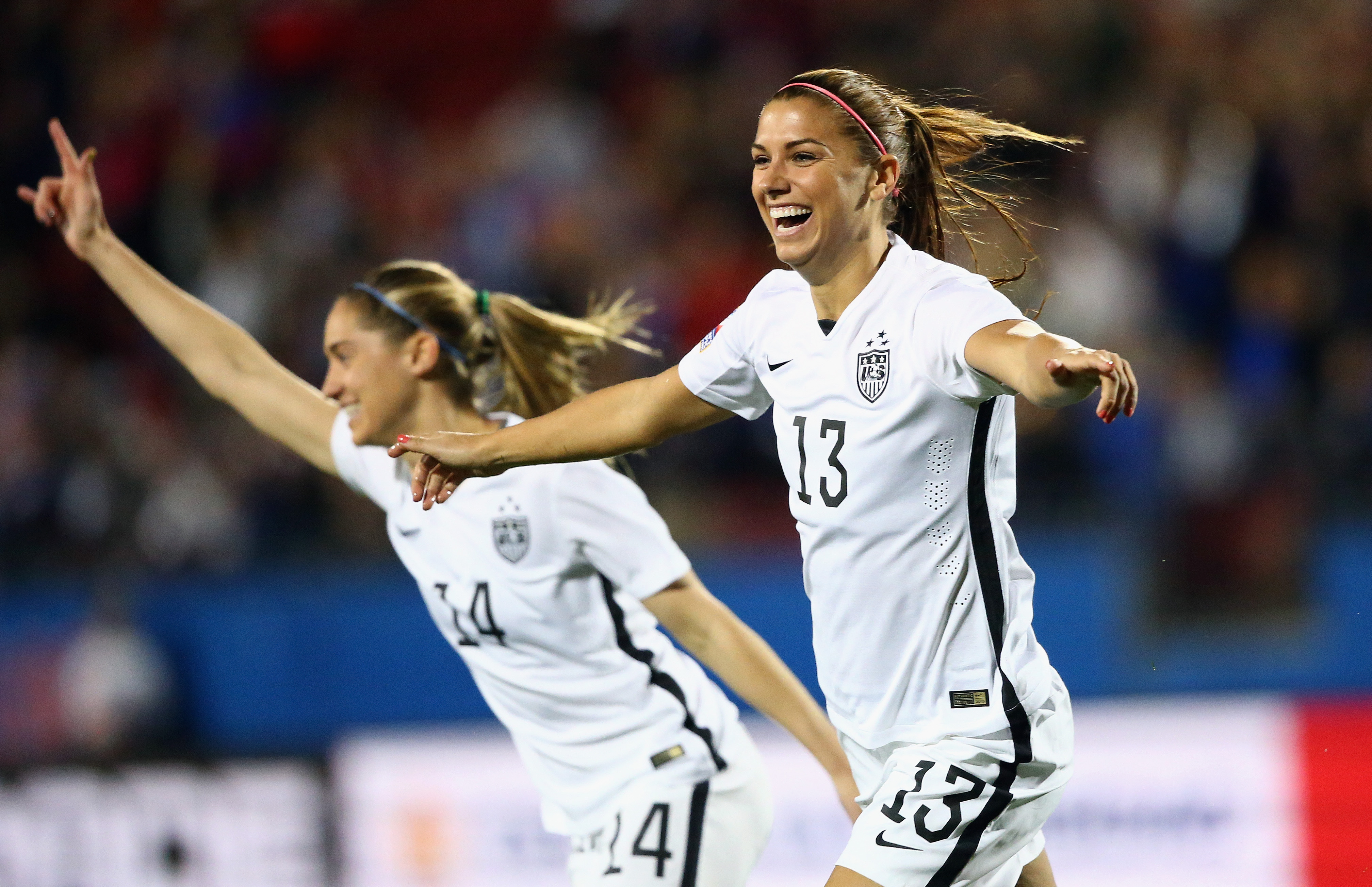 huge selection of 7798f d10ce U.S. soccer star Alex Morgan on how sports helps girls ...