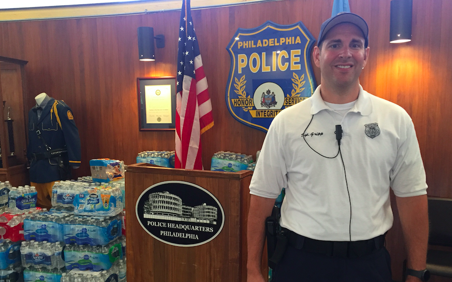 169c1584e6a Meet Sgt. Eric Gripp, the police officer going viral in Philadelphia ...