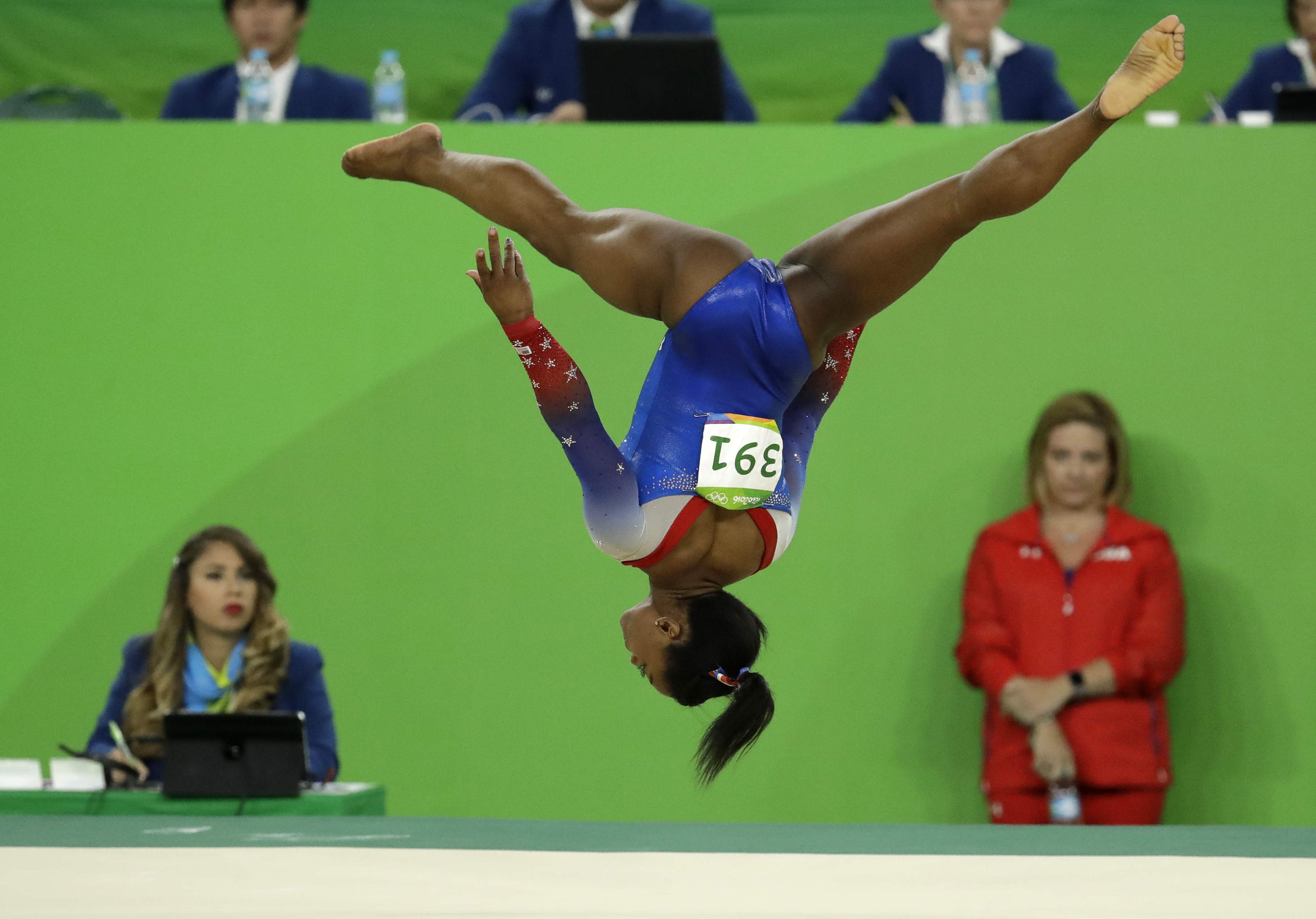 Simone Biles makes Olympics history with fourth gold of the games ...