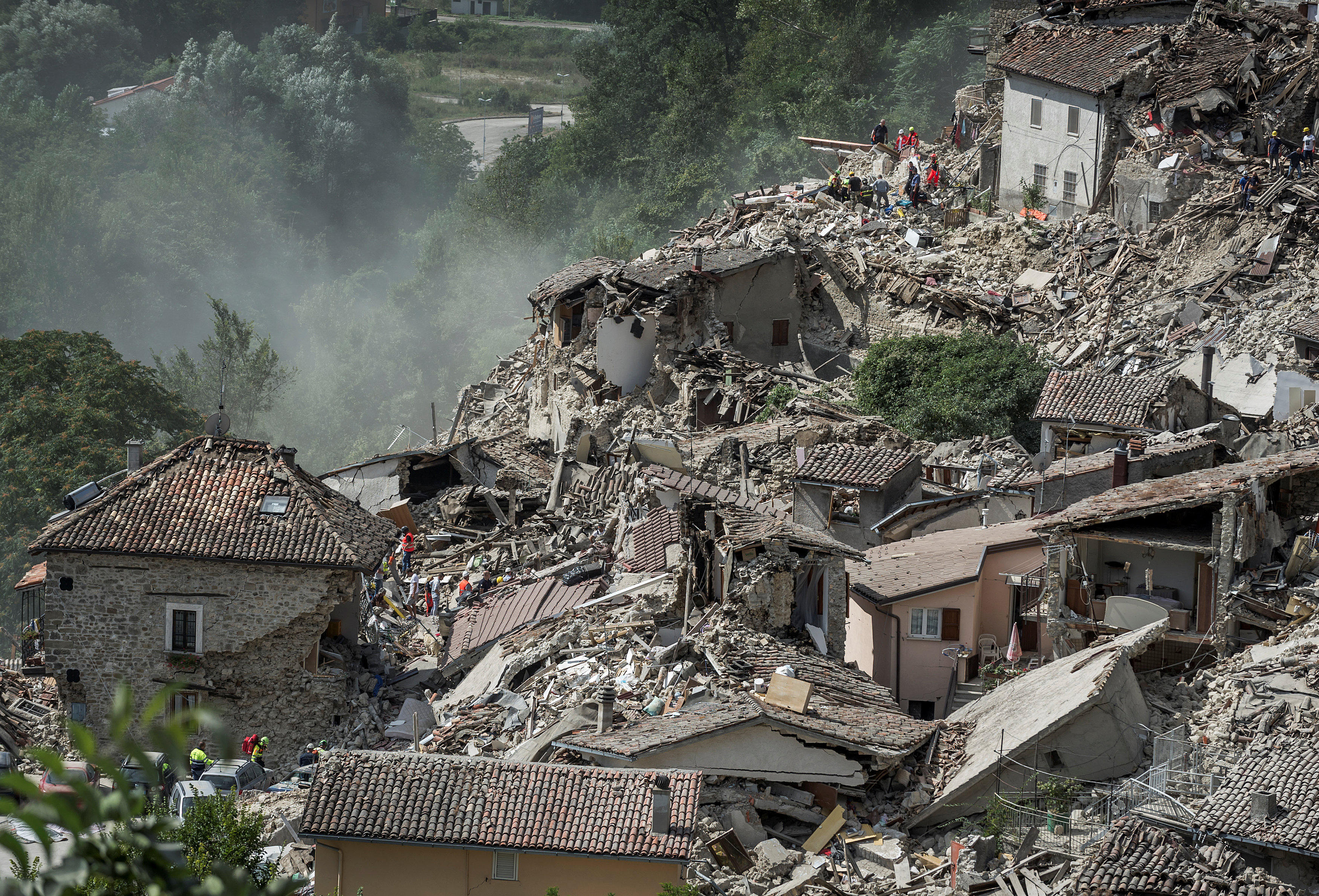 Why the Italy Earthquake Was Uniquely Devastating - NBC News |Italian Earthquake