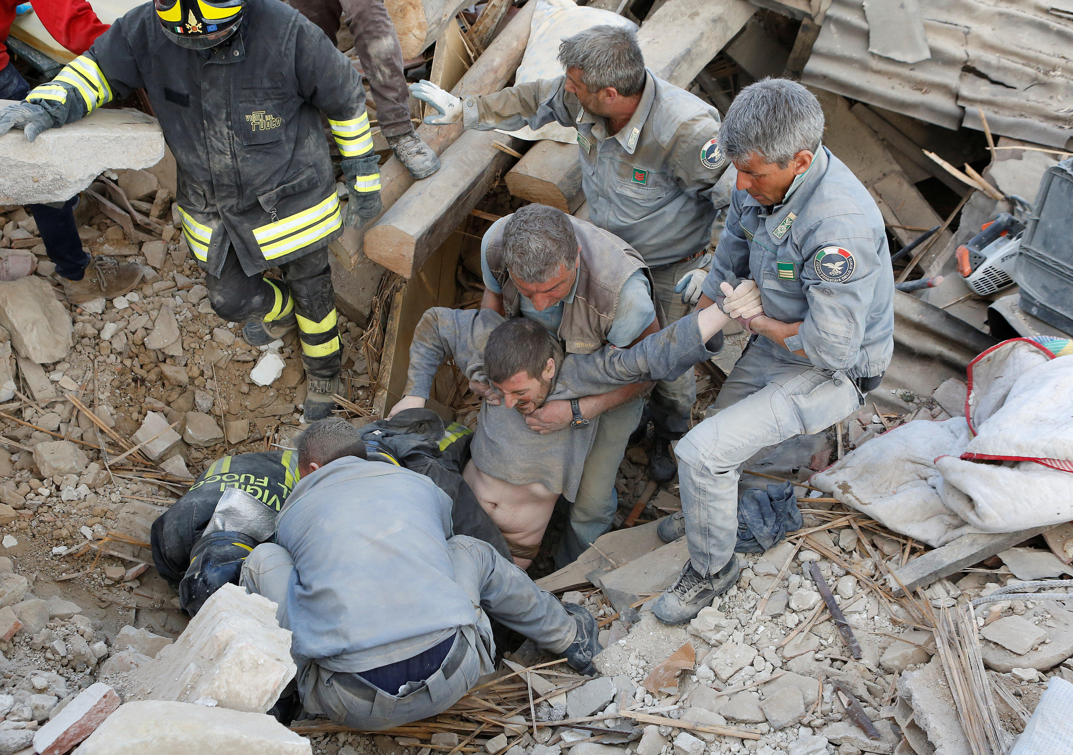 Amatrice Photo amatrice, italy earthquake causes multiple deaths in umbria, felt