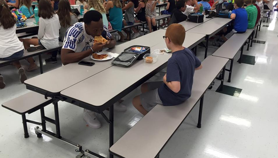 FSU player who went viral for befriending boy with autism