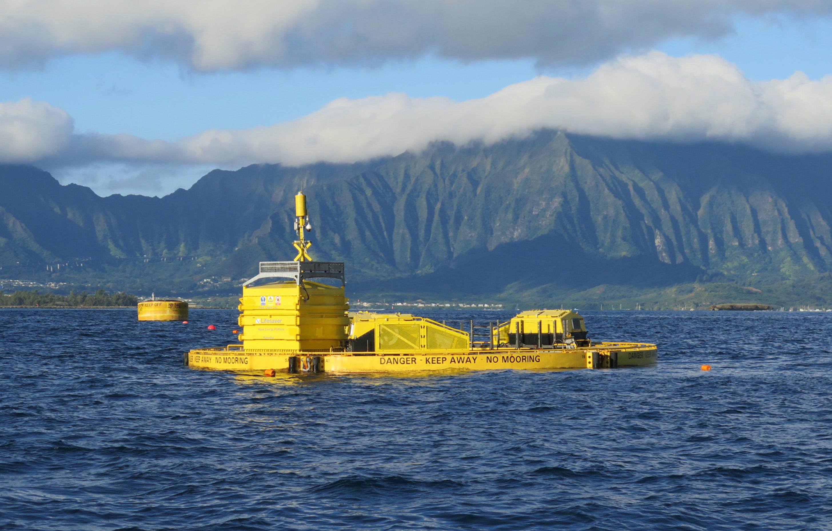 Image result for lifesaver wave energy buoy