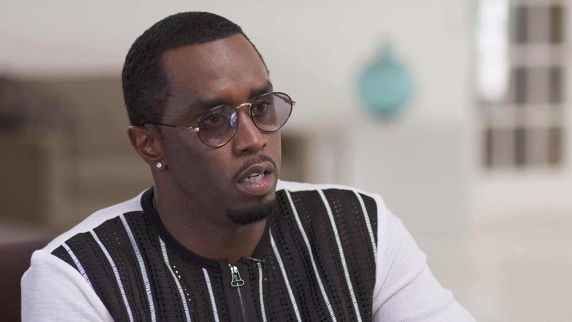 "Hip hop mogul Sean ""Diddy"" Combs talks journey to success ..."